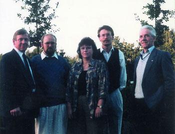 Bürgerverein Schwaneburgermoor/Schillburg Vorstand 1990 bis 1992