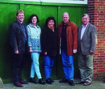 Orts- und Bürgerverein Schwaneburgermoor/Schillburg e. V. Vorstand 2000 bis 2002