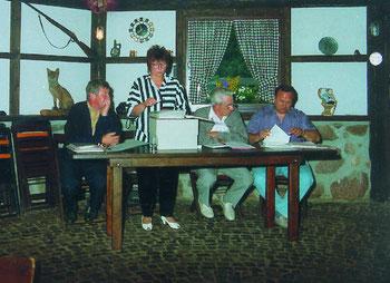 Orts- und Bürgerverein Schwaneburgermoor/Schillburg e. V. Vorstand 1992 bis 1994
