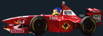 Jacques Villeneuve Jr by Muneta & Cerracín