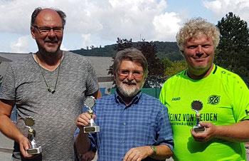 v.l. Michael, Helmut und Jörg