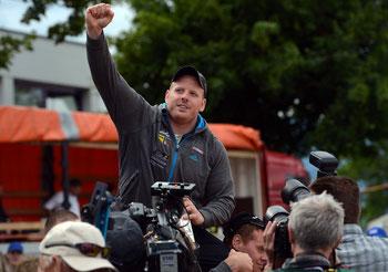 Im letzten Jahr musste Matthias Glarner den Festsiegt am Seeländischen mit Matthias Sempach teilen: Heute ist er alleiniger Festsieger.