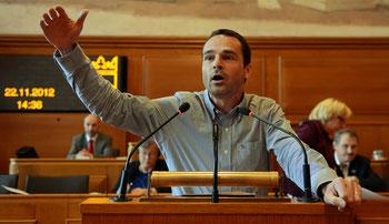 EVP-Grossrat Ruedi Löffel ist gegen den Investitionskredit