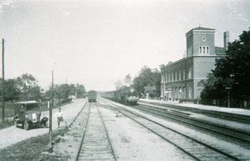Anhalter Bahnhof Anfang des 20. Jahrhunderts