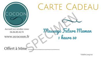 cocoon massage femme enceinte ille et vilaine carte cadeau
