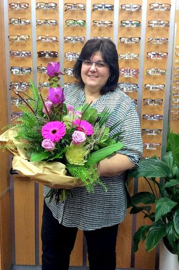 Augenoptikermeisterin seit 20 Jahren: Heike Woucznack