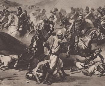 Prise de la smala d'Abd El Kader par le duc d'Aumale