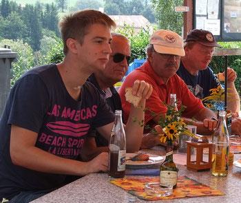 Markus (links) und Ausbildungsleiter Otmar (rechts)