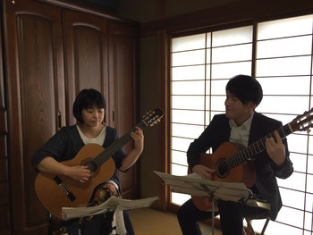 レッスン 岐阜 上原ギター