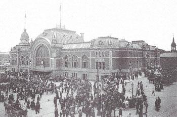 Abb. 2 - Hauptbahnhof Kiel 1906