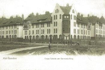 Abb. 5 - Krupp'sche Kolonie, Ostseite