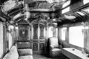 Abb. 4 - Salonwagen im Kaiserlichen Hofzug