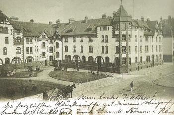 Abb. 4 - Krupp'sche Kolonie, Westseite