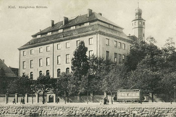 Abb. 1 - Kieler Schloss mit Nordturm