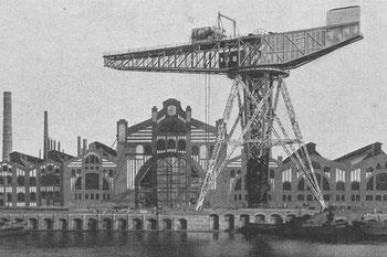 Abb. 2 - Kran am Ausrüstungskai der Germaniawerft