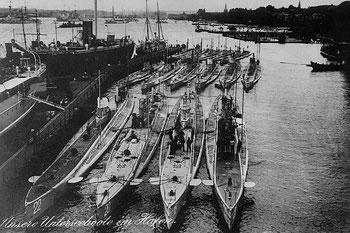 Abb. 3 - U-Boot-Flotte