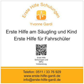 Erste Hilfe am Säugling und Kind Hannover