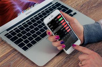 Wertpapiere, Aktienmarkt, Geld verdienen an der Börse