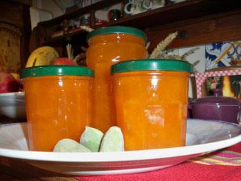 Confitures d'abricots à l'ancienne