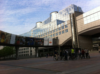 Das Europaparlament in Brüssel