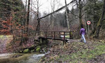 Brücke über den Angerbach