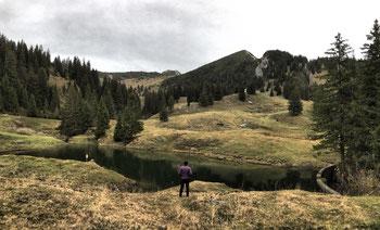 Kleiner See unterhalb der Priener Hütte