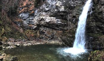 Trockenbach-Wasserfall