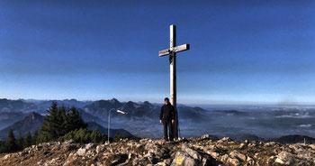 Hochries Gipfelkreuz