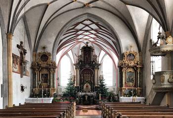 Kirche Allerheiligste Dreifaltigkeit Altenbeuern