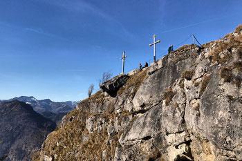 Kranzhorn Gipfelkreuz