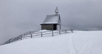 Kapelle auf der Steinling Alm