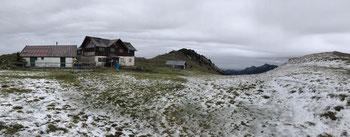 Die verfallende Klausenhütte