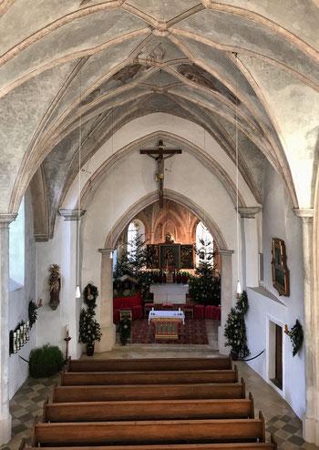 Wallfahrtskirche St. Petrus und St. Leonhard Greimharting