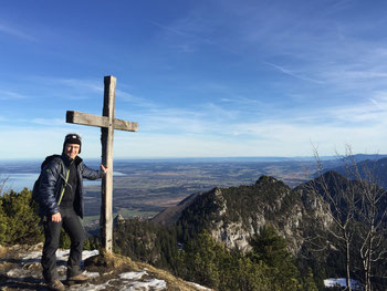 Gipfelkreuz des Sulten