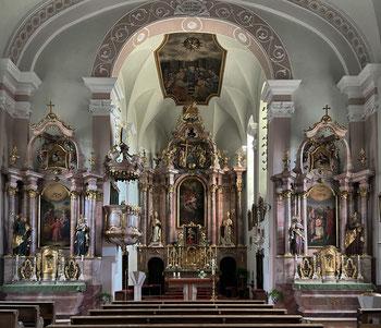 Kirche zum Hl. Apostel Andreas Erl