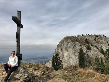 Gipfelkreuz Grasgipfel Heuberg und Wasserwand