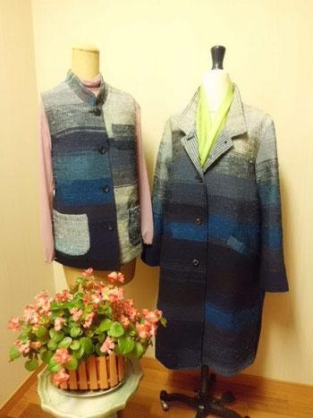 裂き織のジャケット