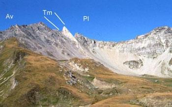 """aus """"Geologie der Alpen"""", Prof. Dr. Nikolaus Froitzheim, Rheinische Friedrich-Wilhelms-Universität Bonn Steinmann Institut für Geologie, Mineralogie und Paläontologie"""