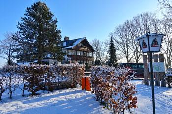 Die NOSW erwartete eine traumhafte Winterwelt beim Berghotel Hohe Mark in Groß Reken