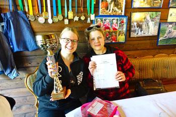 Isabell und Katrin holten den Sieg