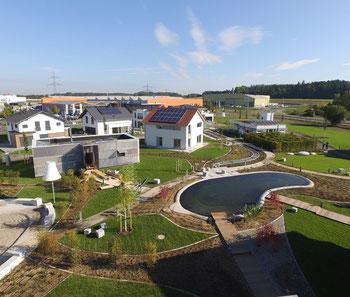 Die FertighausWelt Günzburg wird am 8. Oktober 2016 eröffnet.  Foto: BDF