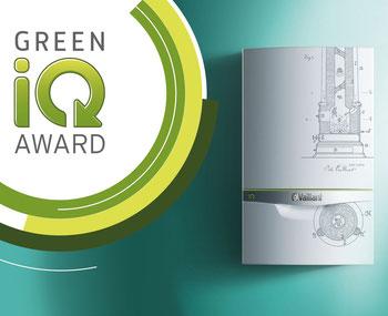 Green iQ Award: drei Gas-Brennwertgeräte ecoTEC exclusive limited edition sowie zwei E-Bikes gewinnen