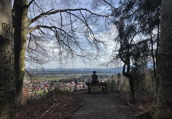 """""""Zur schönen Aussicht"""" oberhalb von Bad Feilnbach"""