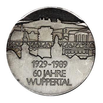 Silbermünze Wuppertal