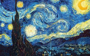 Vincent Van Gogh, «Notte Stellata», 1889