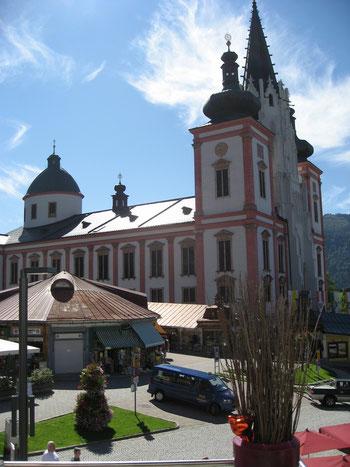 Die Basilika Mariä Geburt in Mariazell
