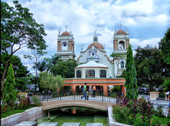 Parque Central de San Pedro Sula.