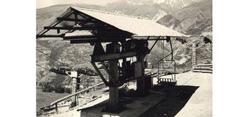 1961: Télésiège des Granges