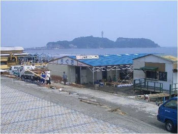 西江の島海岸(鵠沼海岸)
