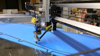 3D Druck von Skateboard Formen für die BufoTech UG auf großformat 3D Drucker der Firma B&M Maschinenbau GmbH in Hannover